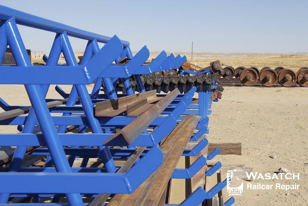 Wasatch Railcar Repairs Storage Racks